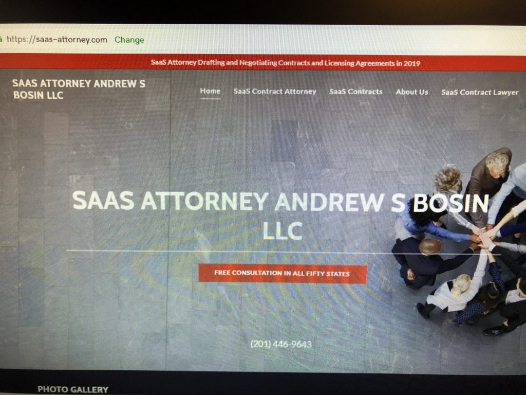SaaS Contracts Lawyer