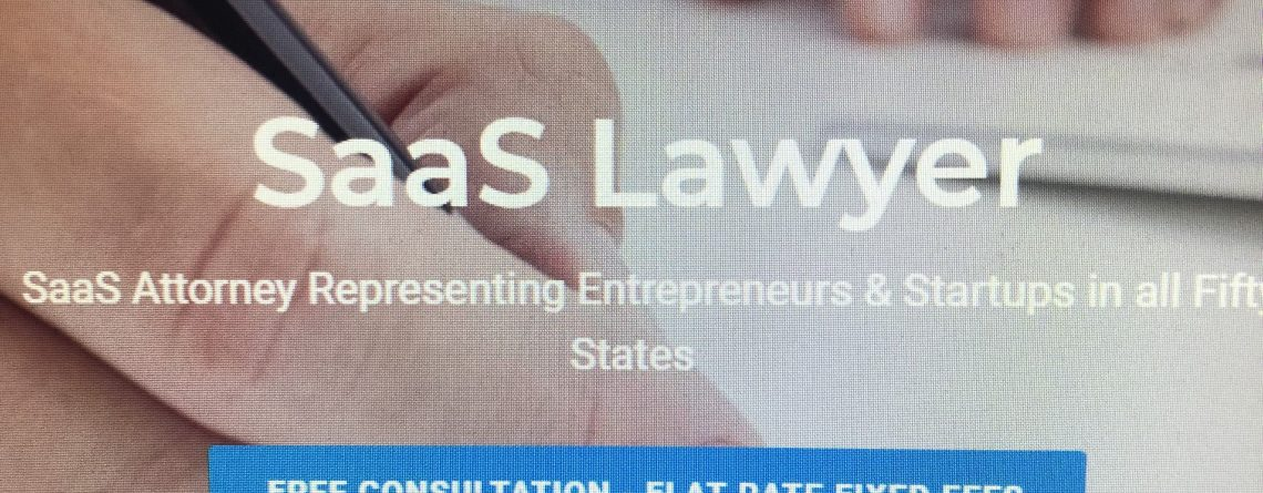 SaaS Lawyer & Software Licensing Attorney